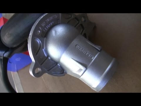 Mercedes S500 (W220) Thermostat Replacement DIY