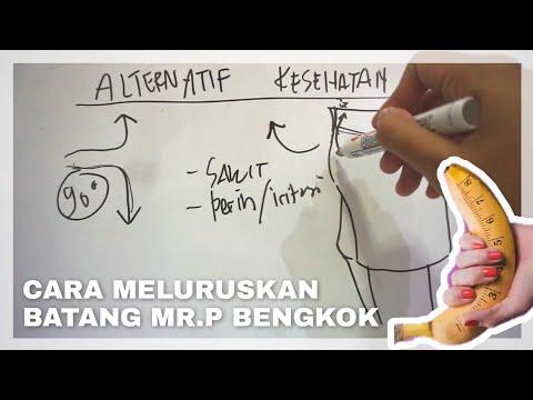 Cara Meluruskan Batang Mr. P Yang Bengkok