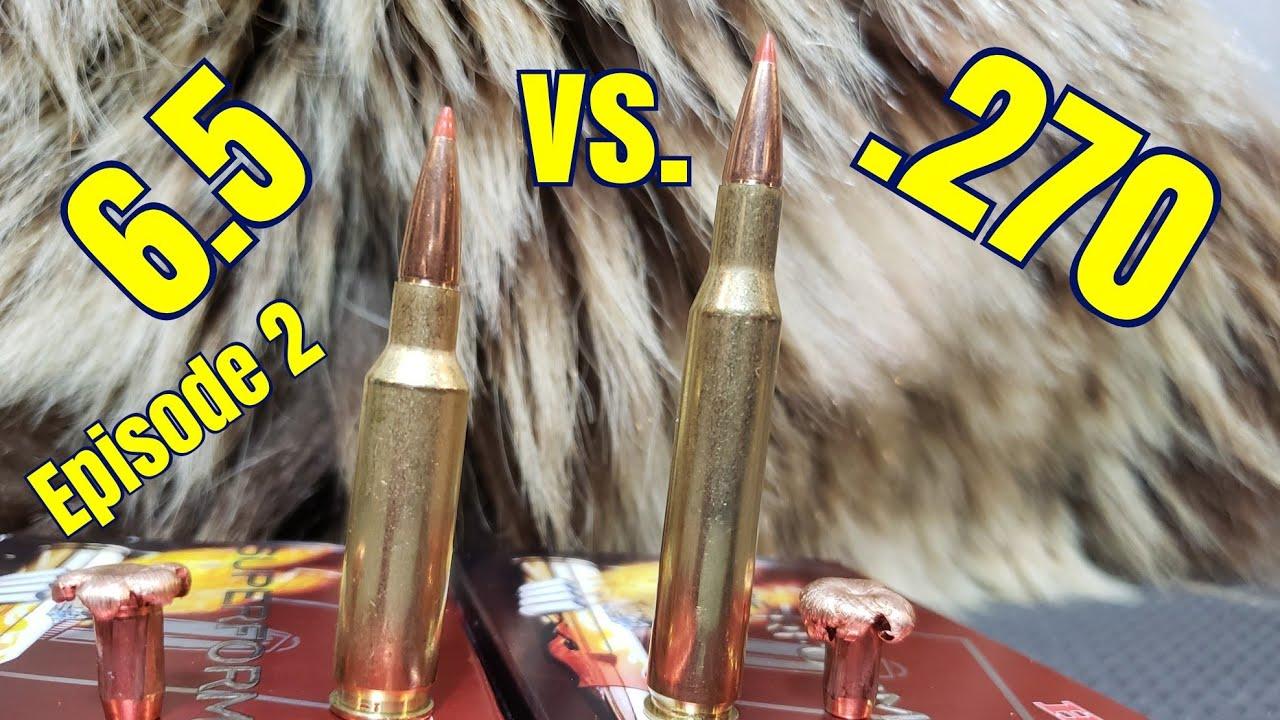 6.5 Creedmoor vs. .270 Winchester: Episode 2 Hornady Superformance GMX