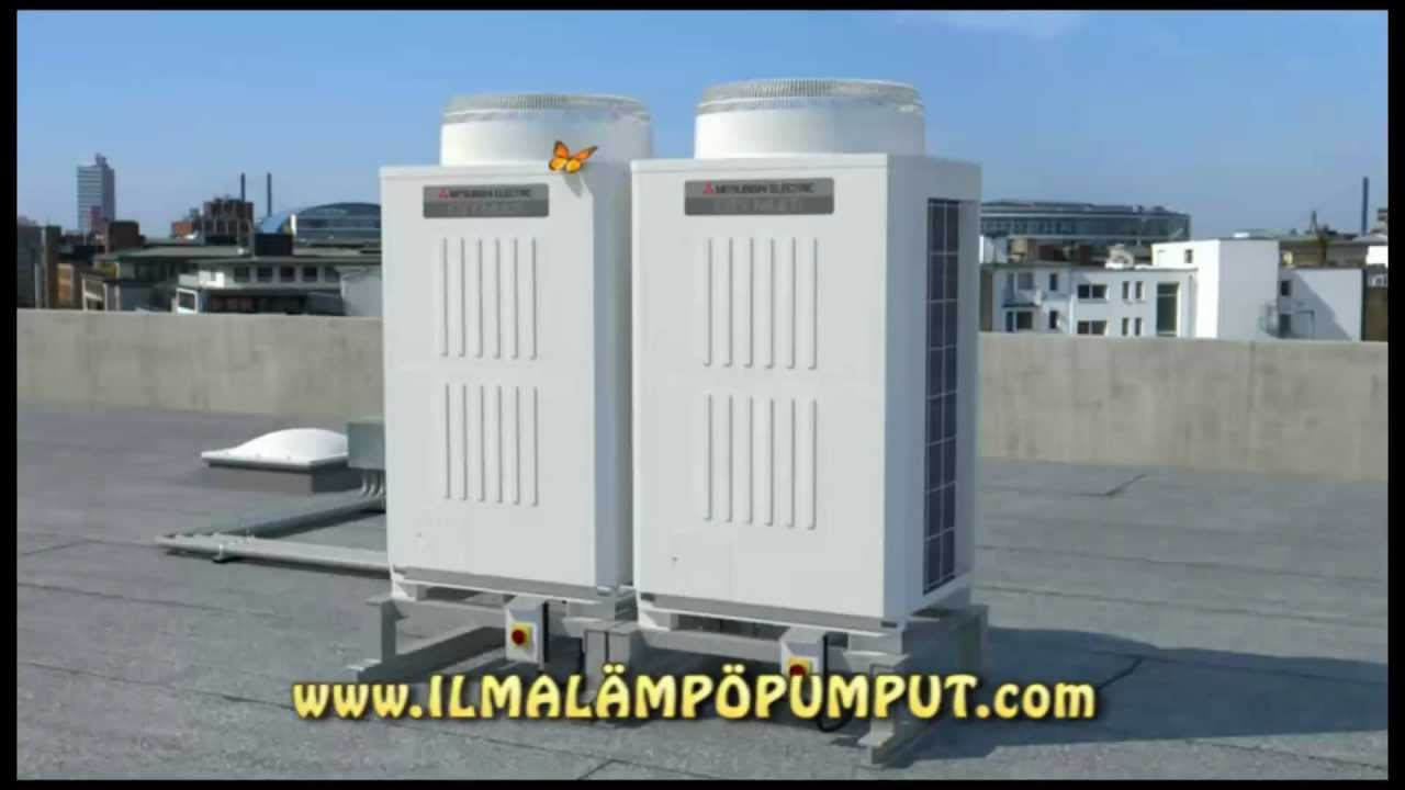 Mitsubishi Electric Vrf Demo Youtube