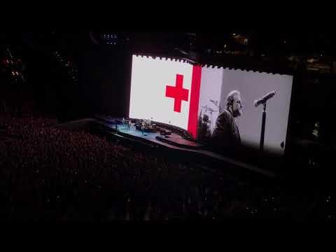 One - U2 The Joshua Tree Tour - Lucas Oil Stadium, Indianapolis - 09.10.2017
