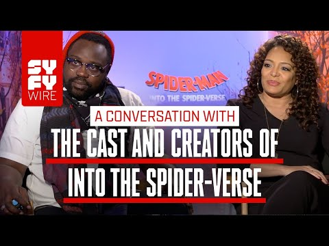 Meet The Spider-Parents And Spider-Producers Of Into The Spider-Verse |  SYFY WIRE
