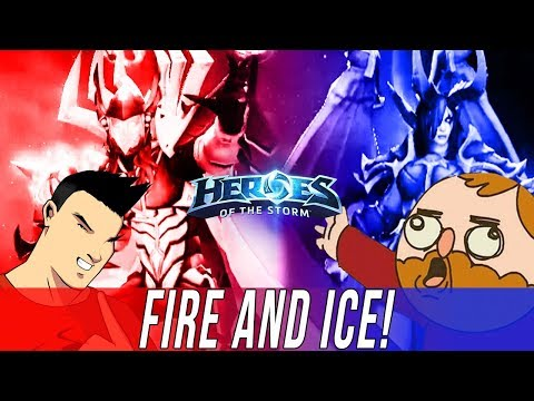 TEAM LE - FIRE AND ICE! - DUO QUEUE SILLINESS [Heroes Of The Storm]