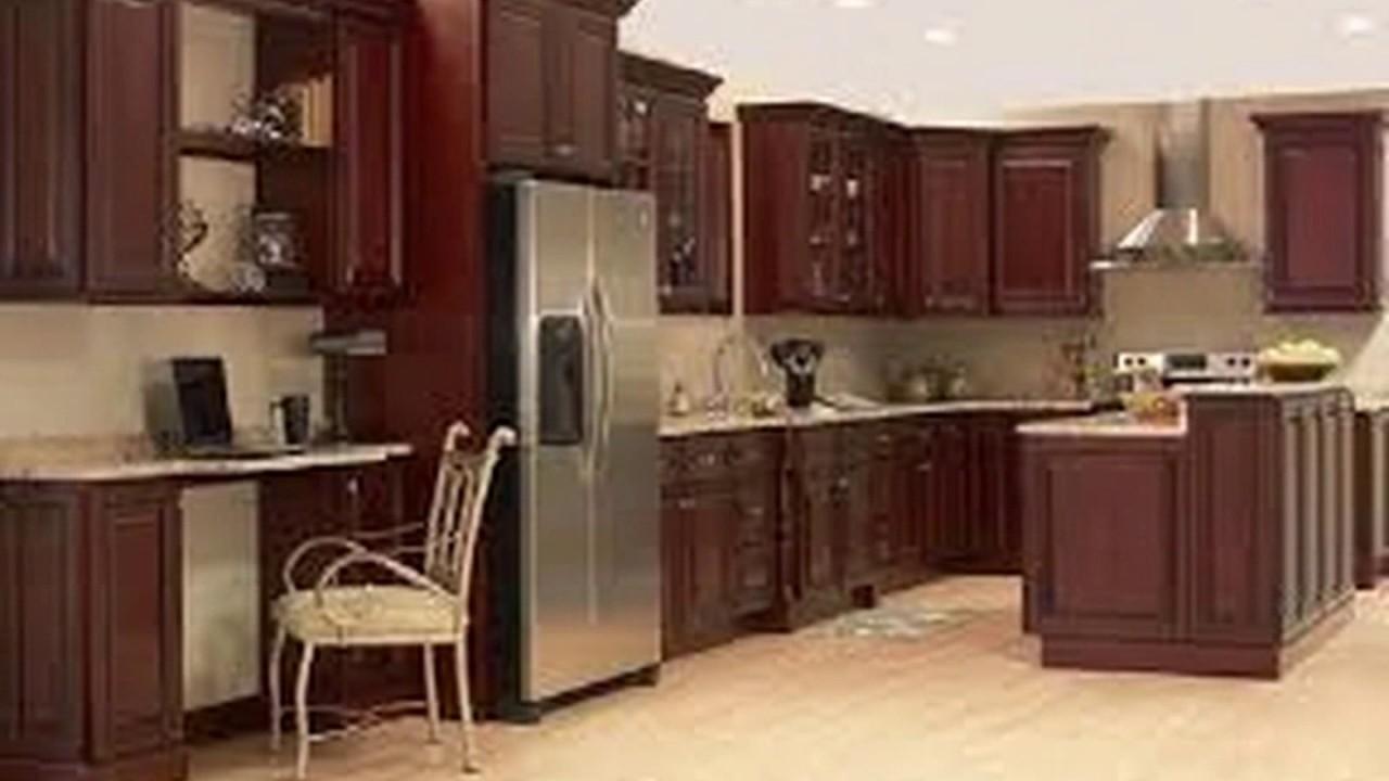 Tren Kitchen Set Kayu Mahoni - YouTube