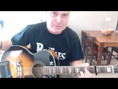 ♪♫ The Beatles - I Will (Tutorial)