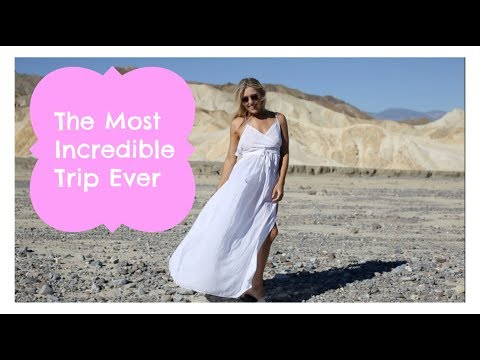 I CAN'T BELIEVE WE WENT HERE?!?! THE BEST TRIP EVER. Santa Barbara & Death Valley Vlog | EmTalks