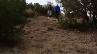 Double Amputee Climbs Up Steep Grade