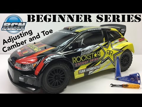 RC Beginner Series - Adjusting Camber And Toe
