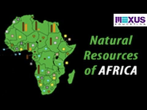 Natural Resources of Africa