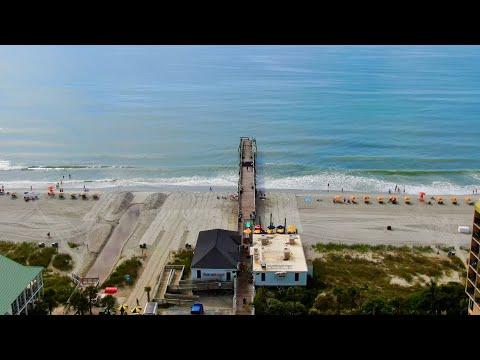 Surfside Pier Drone Footage - Surfside Beach, SC