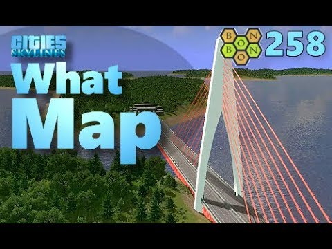 Cities Skylines - What Map - Map Review 258 - Lufgramd