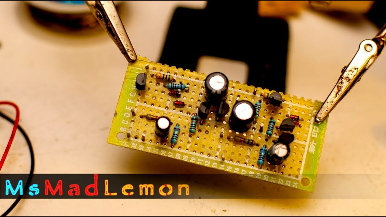 Headphone Amplifier Project Part Four Completing The Circuit Head Phone