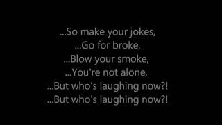 Download Who's Laughing Now - Jessie J [Lyrics On Screen] MP3 song and Music Video
