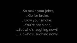 Who's Laughing Now - Jessie J [Lyrics On Screen]
