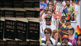 BIBLES BANNED IN CALIFORNIA Moves One Step Closer to EVIL Reality
