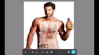 photoshop touch body add tattoo