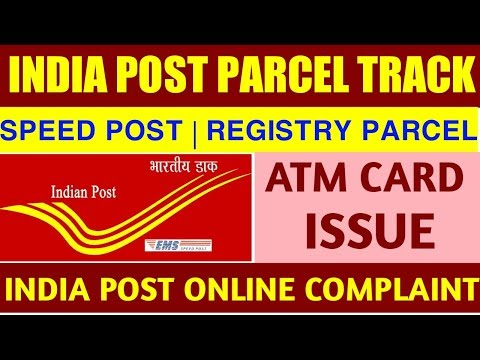 How To Track Speed Post   Check Status Online   Parcel Lost Complaint In India Post /Speed Post
