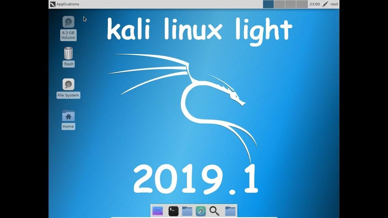 Kali Linux Light 2019 1