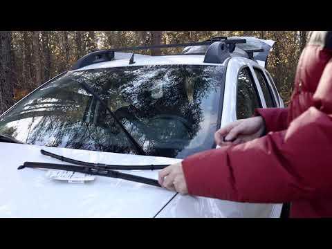 Автонюансы // «хитрые» дворники Renault Duster или просто замена щеток стеклоочистителя