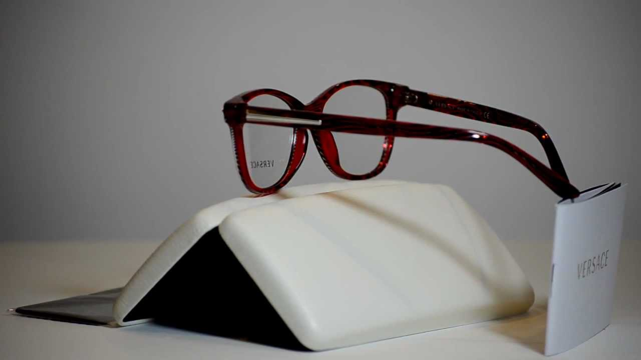 0a137a0b3c4f New Authentic Versace Eyeglasses VE3153 935 VE 3153 53mm Made In Italy