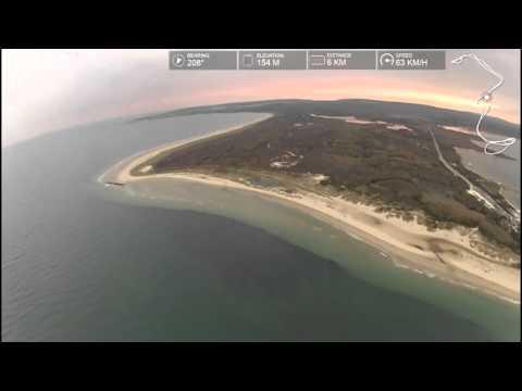 PPG Paramotor Paraglider Dudek Synthesis nice flight (Full Flight - no music)