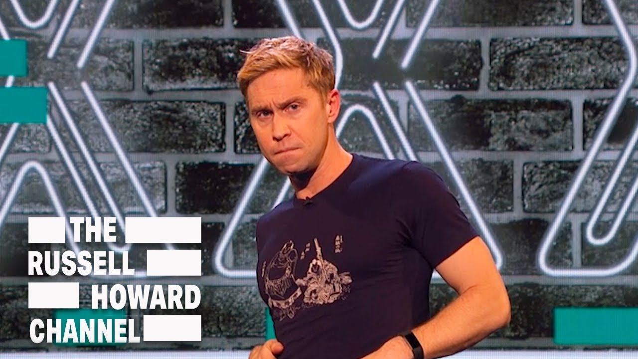 Why Philip Schofield Needs To Become A Porn Star - The Russell Howard Hour