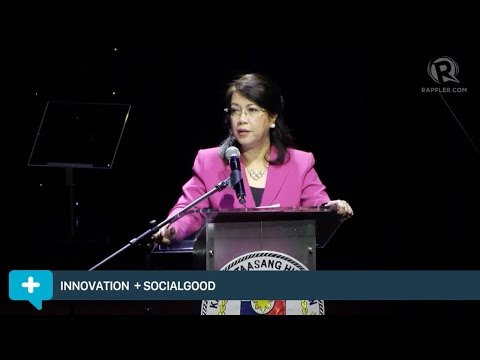 Social Good Summit 2015: Maria Lourdes Sereno, Chief Justice, Philippine Supreme Court