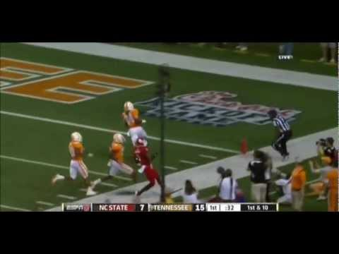 Cordarrelle Patterson makes his debut by humiliating North Carolina State