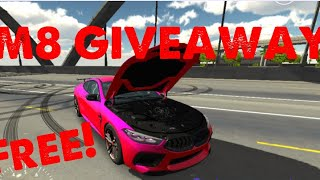 Custom BMW M8 GIVEAWAY | Car Parking Multiplayer