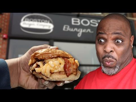 Boston Burger Company MAC ATTACK and MORE