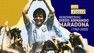 REMEMBERING DIEGO MARADONA | OneS๐ccer Today