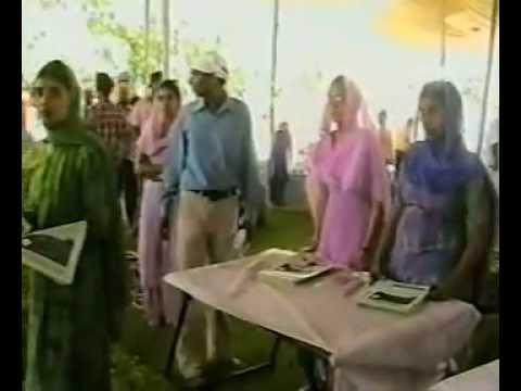 Sant Baba Ranjit Singh Ji Dhadrian Wale at Gurdwara Ratwara Sahib