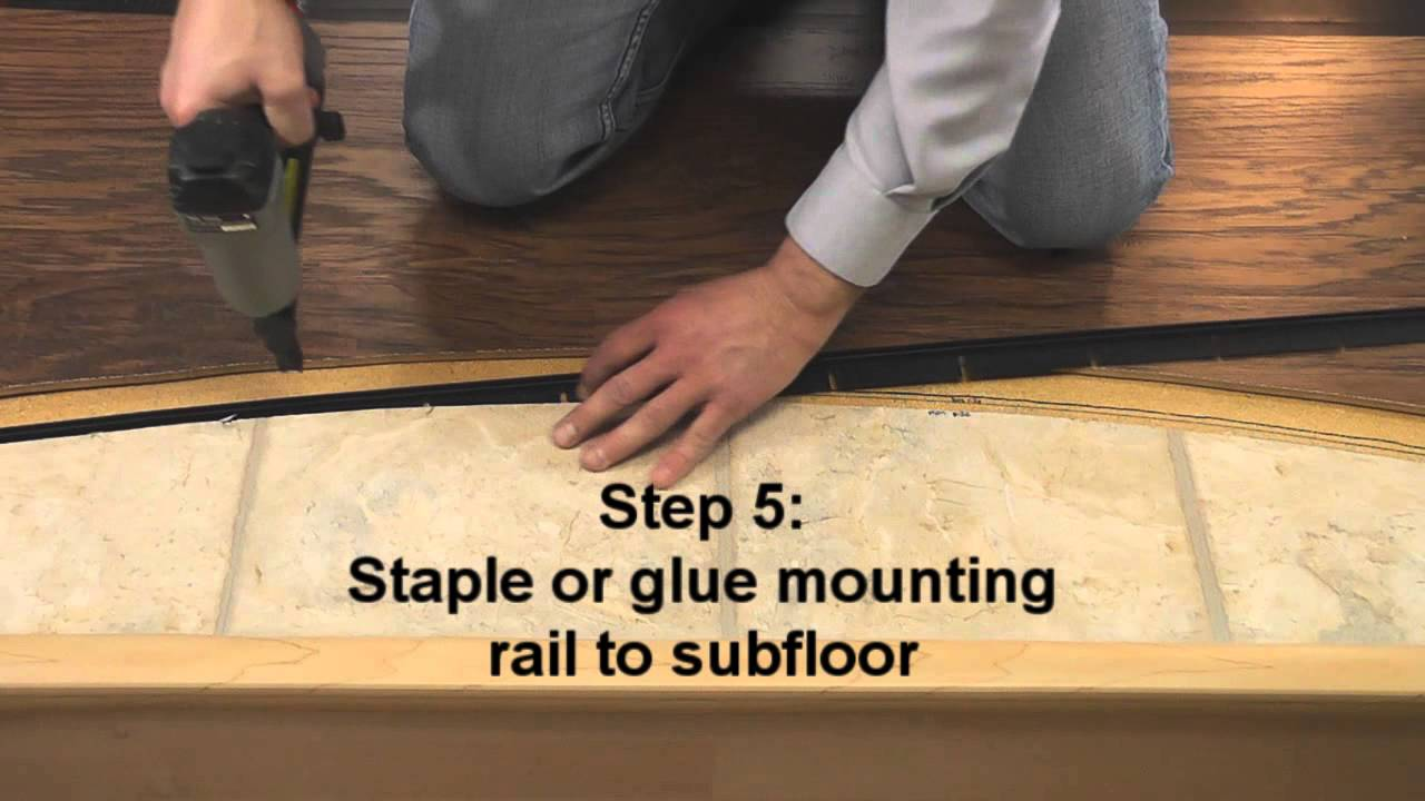 Totaltrim All In One Lvt Molding You, Flexible Molding For Laminate Flooring