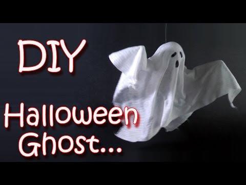 DIY Halloween crafts -  Ghost -  Halloween decorations - Ana | DIY Crafts