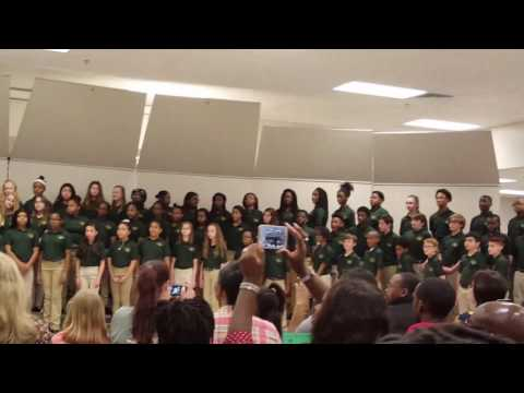 Bay Creek Middle School Chorus Pre LGPE Concert 3/7/17
