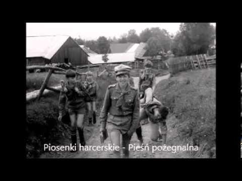 Pieśń pożegnalna - Braterski Krąg - Tekst - Piosenki harcerskie