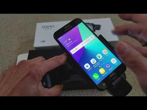 How To Sync App DJI OSMO Smartphone Mobile 1 & 2 Gimbal Handheld! 1 26 2018