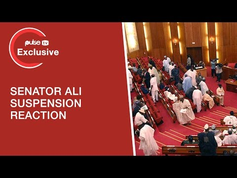 Senator Ali Ndume's Suspension by the Senate, IDPs 'Thank' Senate For Suspending Him | Pulse TV