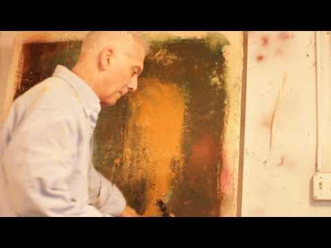 2016 Harry Painting in Ohio Studio