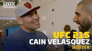 Cain Velasquez Doesn't Expect to Fight This Year, Hopeful He'll Be Healthy in 2018 - MMA Fighting