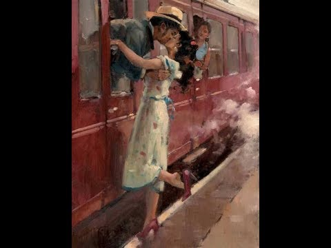 Raymond Leech (1949) British impressionist painter ✽ Chris Spheeris / Allura