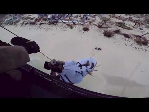 CBP Air and Marine Operations Aircrew Conducts a Rescue Mission -HiRes