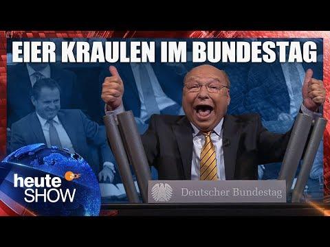 Gernot Hassknechts Eröffnungsrede im Bundestag | heute-show vom 06.10.2017
