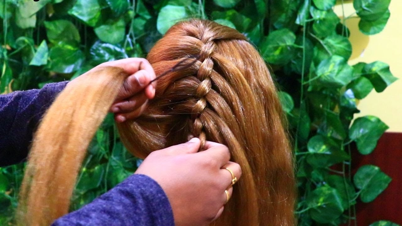 Beautiful Hairstyle for beginners | Hairstyle for Medium Hair | Daily Hairstyles | KGS Hairstyles