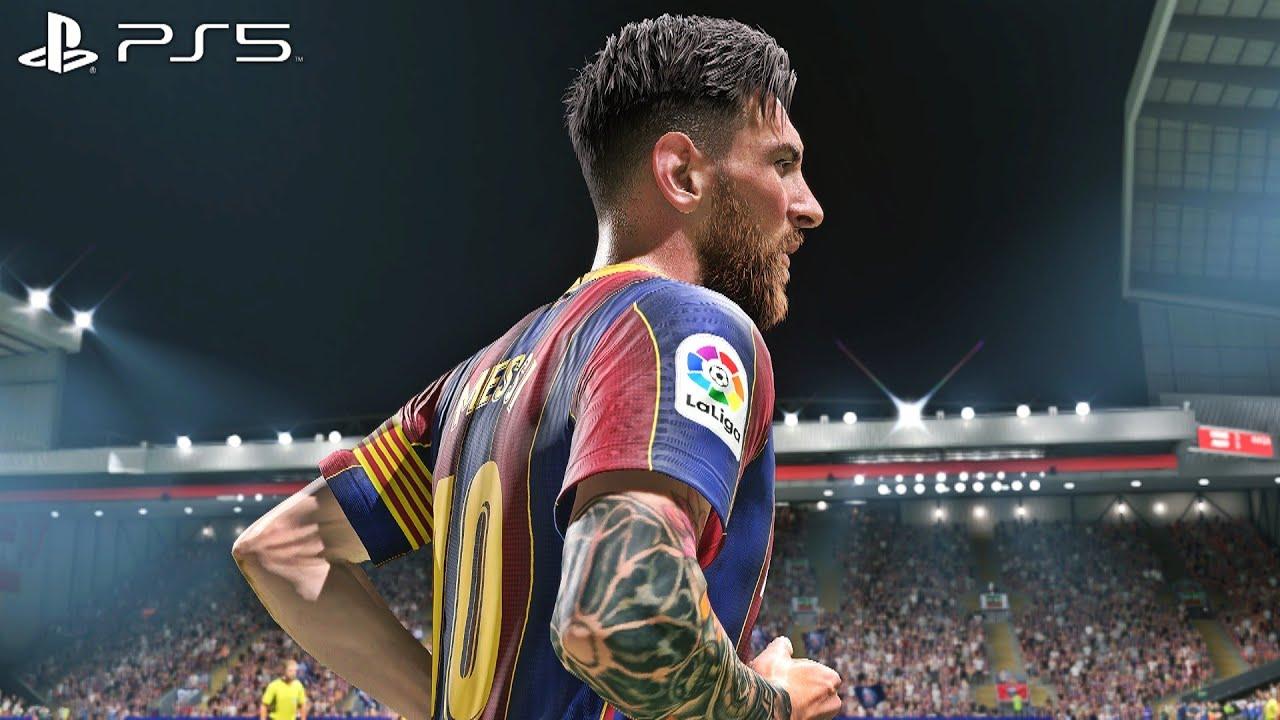 FIFA 21 -Barcelona vs Bayern Munich | Gameplay Online - PS5™ [4K 60FPS]