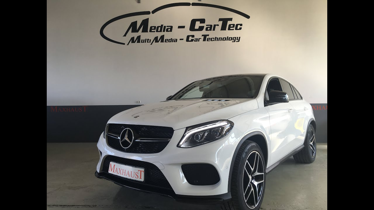 mercedes gle 292 maxhaust active sound step2 youtube. Black Bedroom Furniture Sets. Home Design Ideas