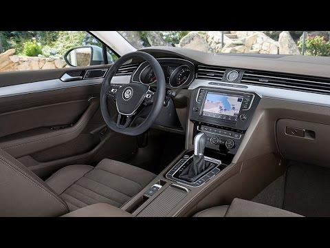 2015 VW Passat Variant Interior - YouTube