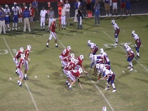 Tomball High School football 08