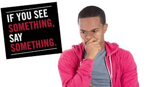 WSSU Campus Police Safety Tips - See Something Say Something