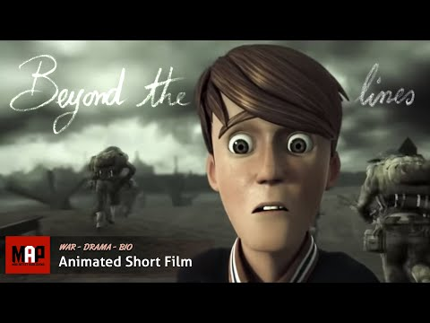 """CGI 3D Animated Short Film """"BEYOND THE LINES"""" Inspiring Animation by ESMA"""